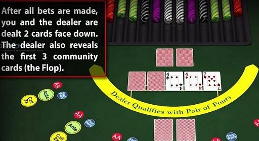 Explicación sobre Casino Hold'em para jugadores de iPhone