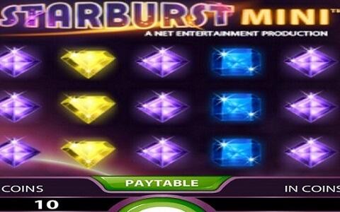 Dando uma olhada no Starburst Mini Online Slot